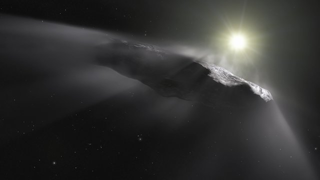 Hubblecast 111: Hubble sees `Oumuamua getting a boost
