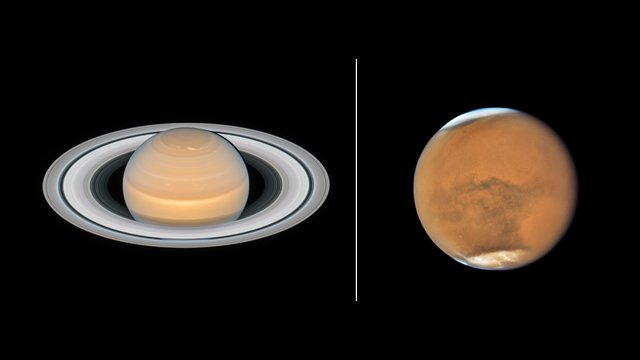 Hubblecast 112 Light: Mars and Saturn