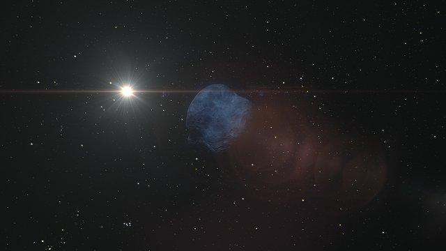 Animation of Neptune's moon Hippocamp