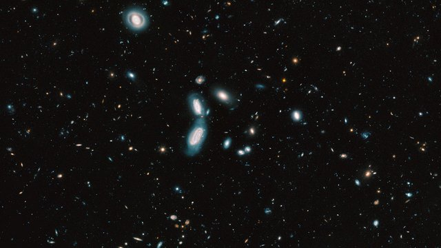Zooming in on the Hubble Legacy Field