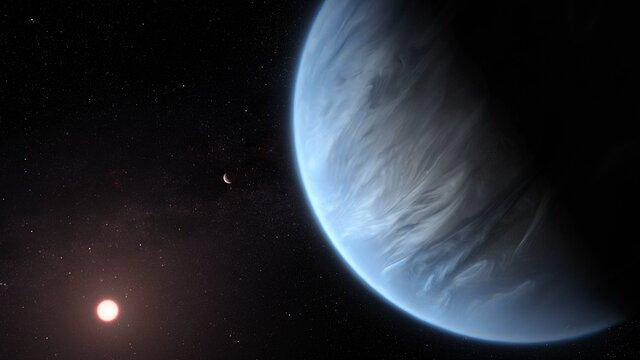 Hubblecast 124 Light: Exoplanet K2-18b