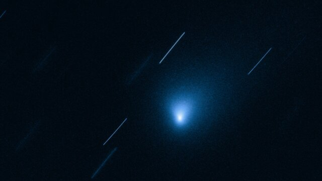 Animation of Comet 2I/Borisov