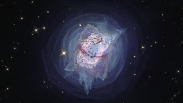 Pan of NGC 7027