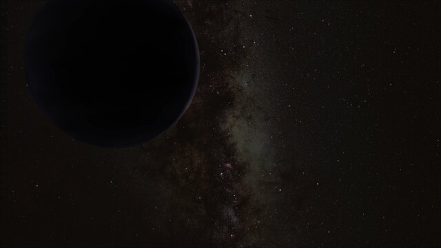 "Artist's Impression of the Hypothesized ""Planet Nine"""