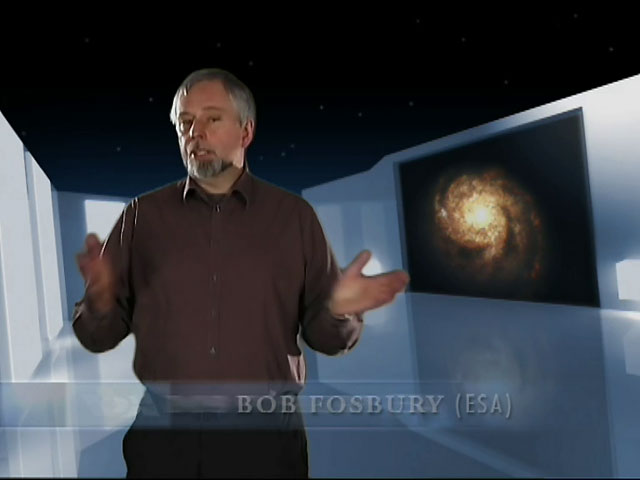 German version of the Hubble DVD 15 Years of Discovery, Chapter 5, COSMIC COLLISIONS