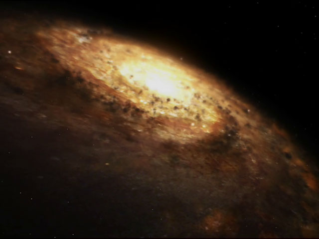 3D animation of the Milky Way from Hubble