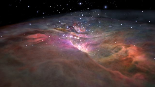 Hubblecast 106 Light: Flying through the Orion Nebula