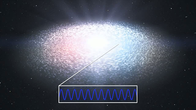 Spectroscopic measurements of the disc around a black hole (artist's impression)
