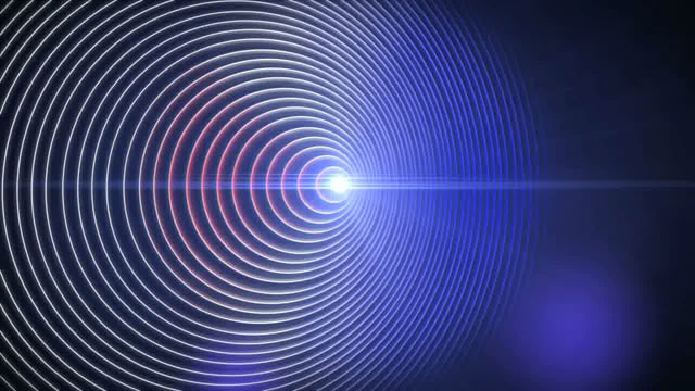 The Doppler effect (artist's impression)