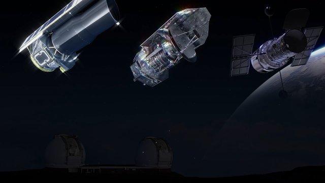 Telescope teamwork