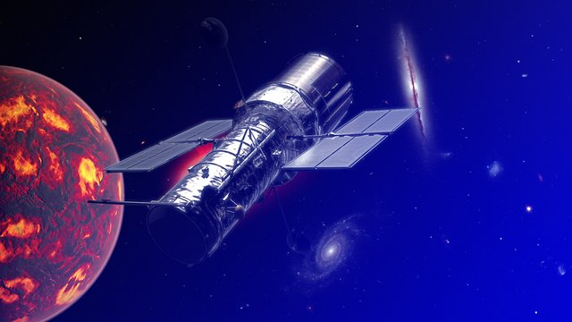 Discoveries of Hubble