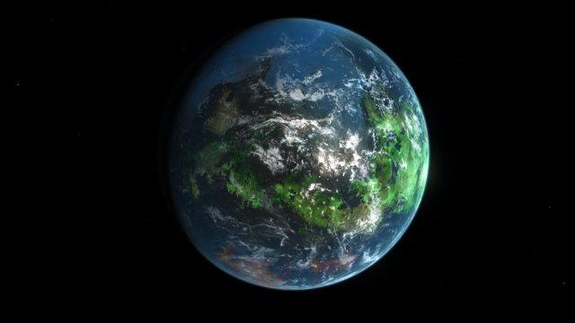 Habitable planet (artist's impression)