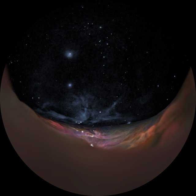 Orion Nebula journey