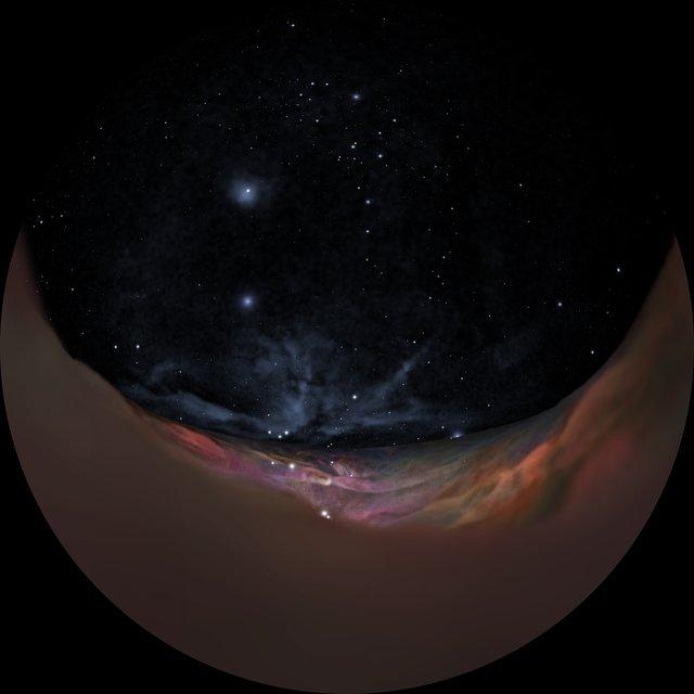 Orion Nebula journey