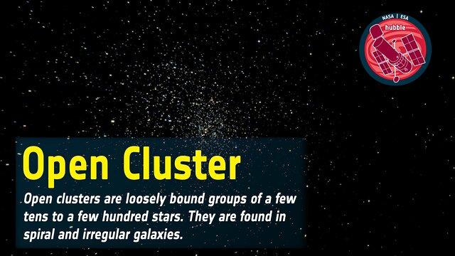 Word Bank: Open Cluster