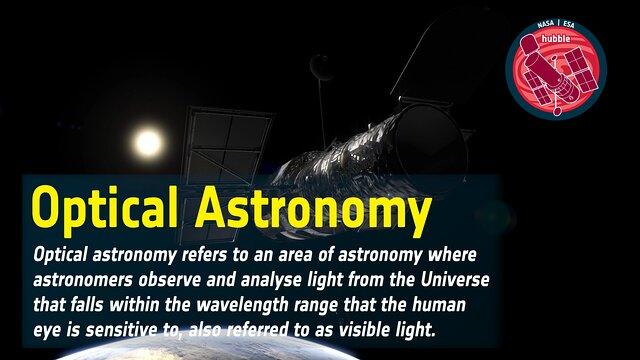 Word Bank: Optical Astronomy