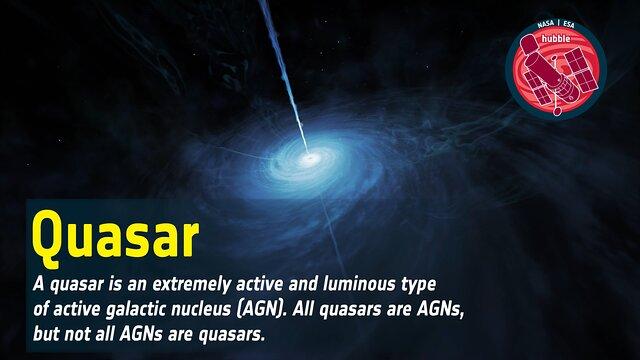 Word Bank: Quasar